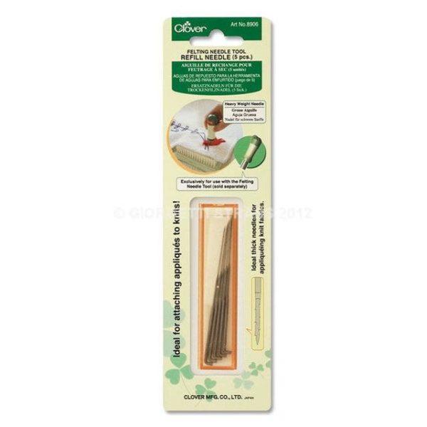 Clover aghi di ricambio punciatore (grossi) 8906