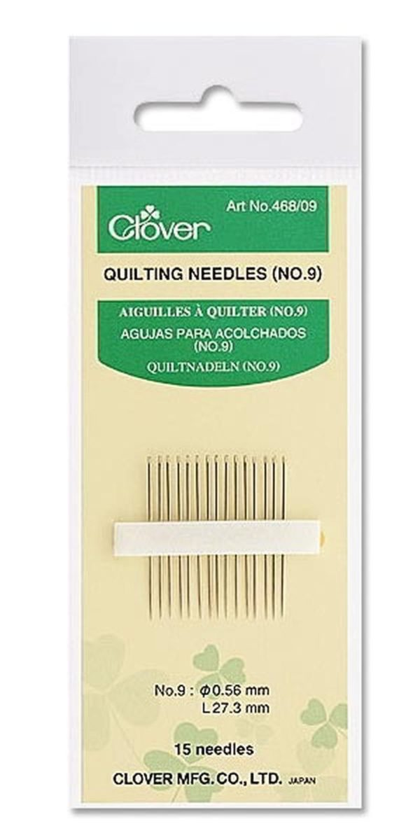 Clover aghi per quilting 468/09