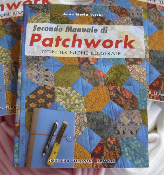libro secondo manuale di patchwork di anna maria turchi