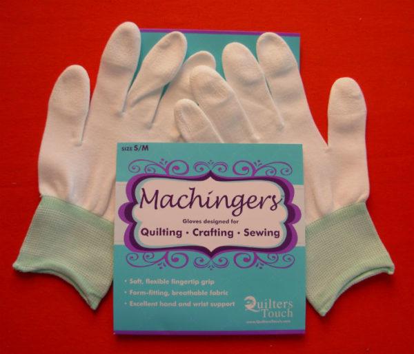 machingers guanti quilt