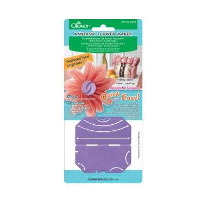 Clover fiore kanzashi petali arricciati 8485