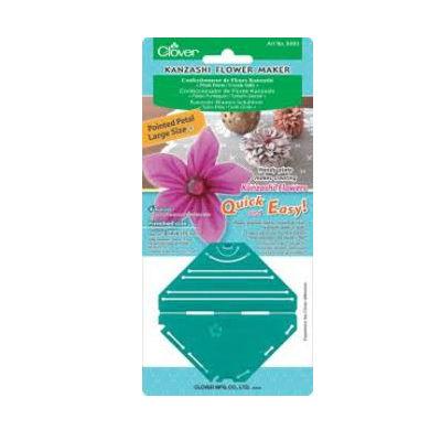 Clover fiore kanzashi petali a punta 8483