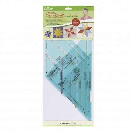 Clover sagome quilt triangoli 9513