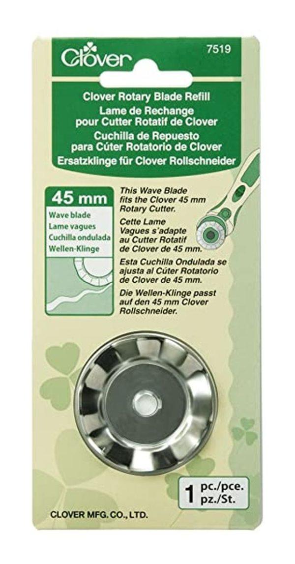 Clover lama ondulata 45 mm. 7519