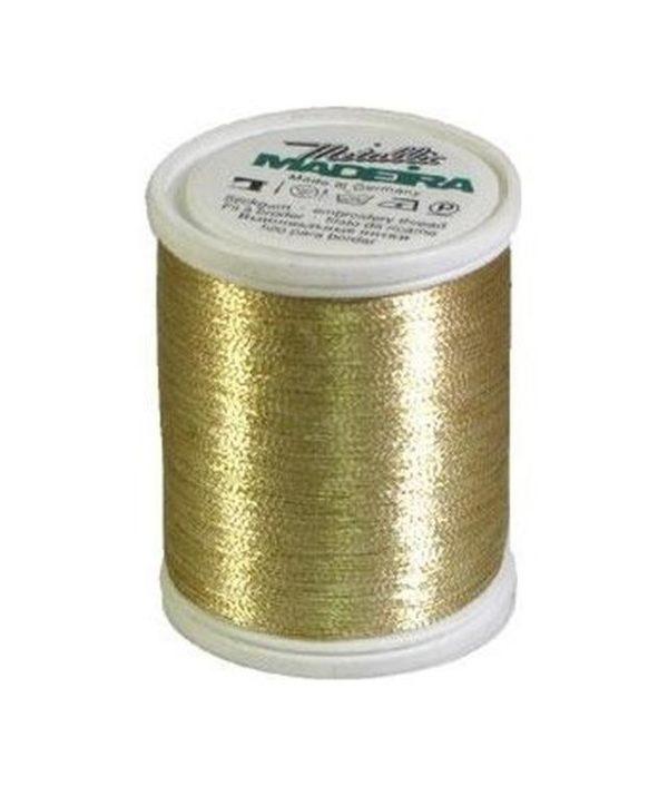 Madeira Metallic colore gold 3