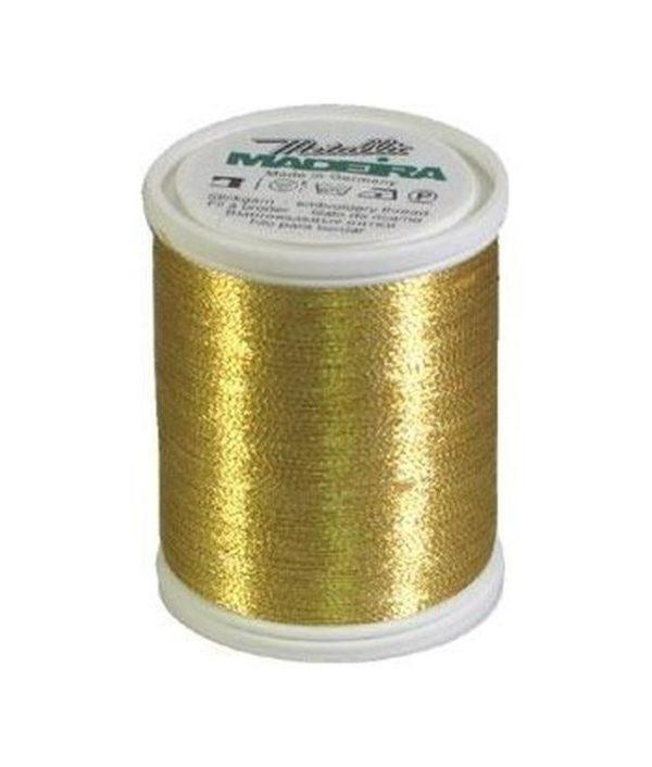 Madeira Metallic colore gold 6