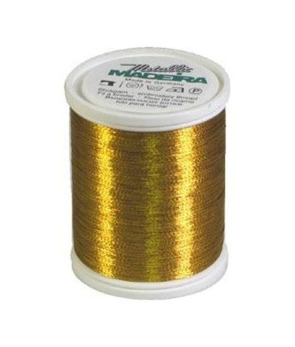 Madeira Metallic colore gold 8