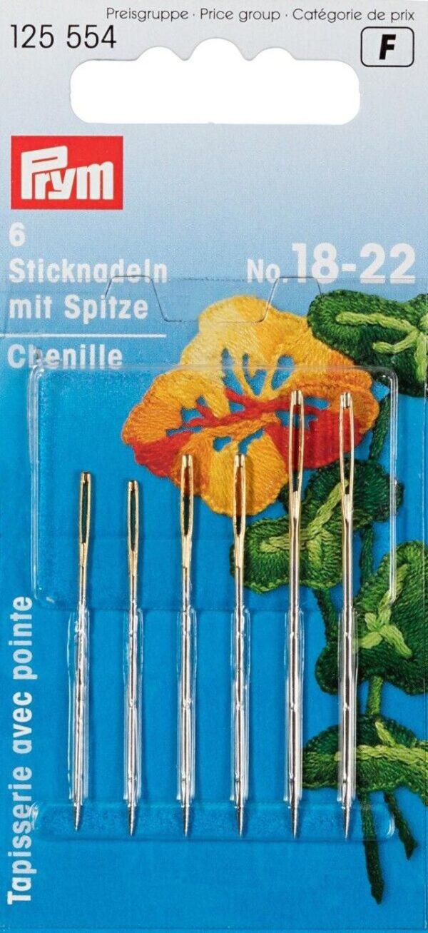 Prym aghi lana con punta