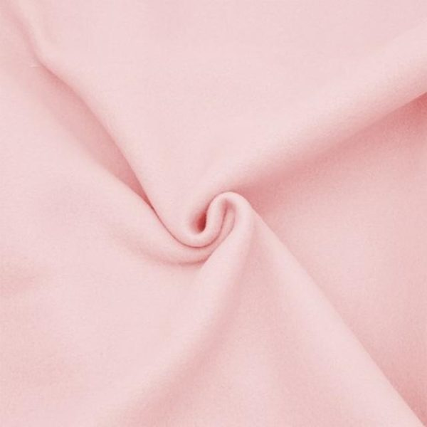 Tessuto in pile colore rosa